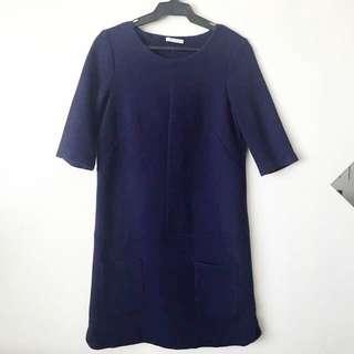 Promod Textured Shift Dress