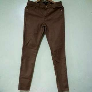 Brown Skinny Jeans from H&M