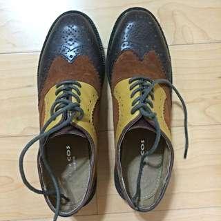 (預定)超美雕花真皮牛津鞋
