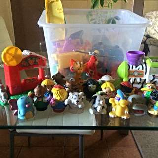 Little People Vehicles, Animals And People