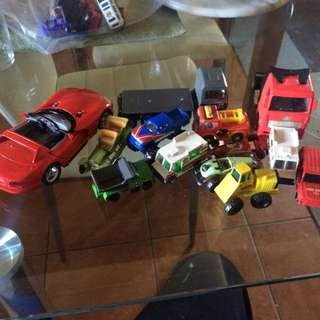 Lots Of Metal And Plastic Vehicles