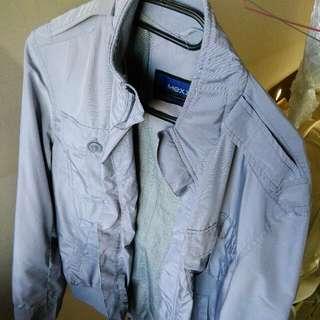 Men Stylish Grey Jacket Mexx
