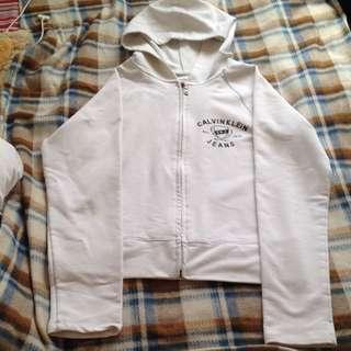 Calvin Klein Jacket With Hoodie