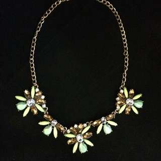 Brand New Green Necklace