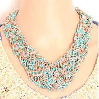 Statement Necklace Multicoloured