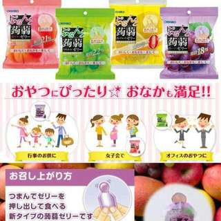 日本ORIHIRO。果凍。8/3寄出。一包六入。