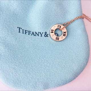 Tiffany&Co 蒂芬妮 Atlas 鏤空鍊墜