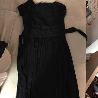 Black Chestie Dress