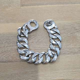 Marc By Marc Jacobs Silver Chain Bracelet