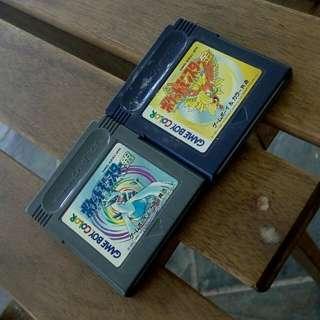 Nintendo Gameboy Color Cartridge Pokémon Retro