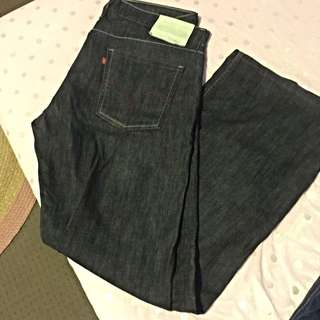 Levis White Tab Zip Fly