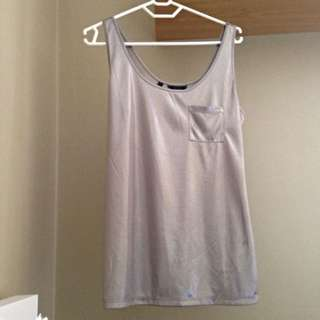 Guess Silver Singlet