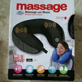 Massage Travelling Pillow with Music