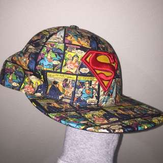 Superman comic movie world hat