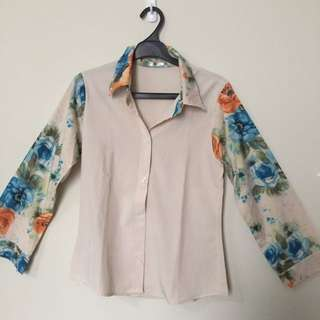flowers t shirt