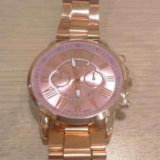 日內瓦 Geneva 學生 小姐 用手錶 全新附禮盒 生日 禮物 送禮