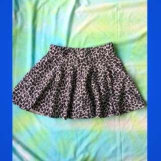 LUXX SKIRT WITH SHORT INSIDE