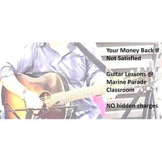 PM/Call us for your Absolutely FREE guitar lesson @ East Coast!