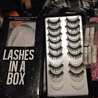 Lashes In A Box