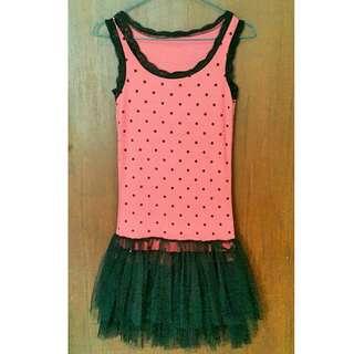 Polkadot Mini Dress
