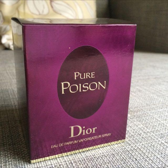 Christian Dior 迪奧 Pure Poison 白毒/純真誘惑香氛(淡香精) /100ML