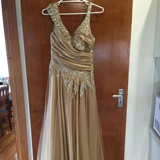 Chenoa ball Gown Dress