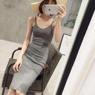 🚚 針織長版洋裝