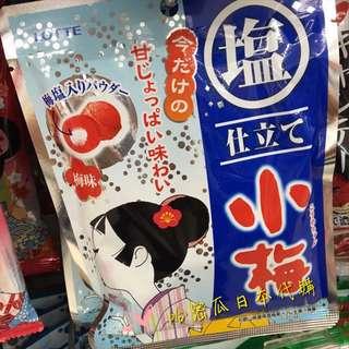 🇯🇵連線ing👉🏻日本進口 LOTTE 鹽小梅糖