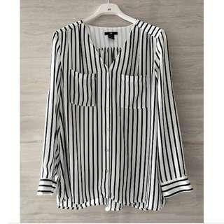 Dicari Stripe blouse H & M