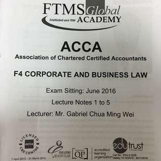 Acca F4 Singapore