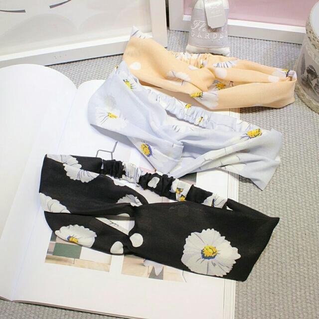 韓版春夏流行可愛小花髮帶