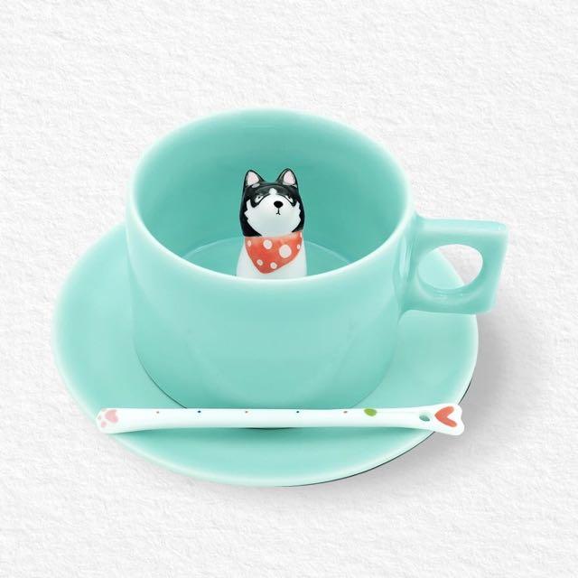 誠品專櫃品牌 和動物一起喝咖啡 單杯