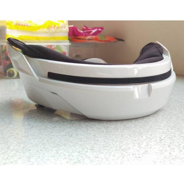 白色 SOL SO-2 安全帽 下巴罩 可拆式護具