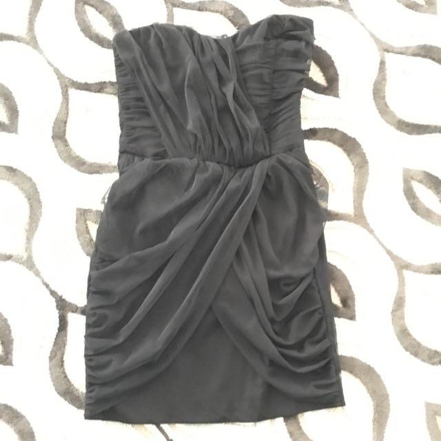 Black Tube Top Dress