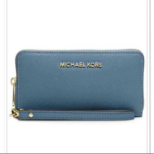 "3cf2fb323c BNIB MICHAEL Michael Kors ""Jet Set"" travel wallet/smart-phone case ..."