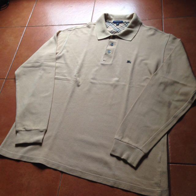 Burberry Long Shirt Nude Size M