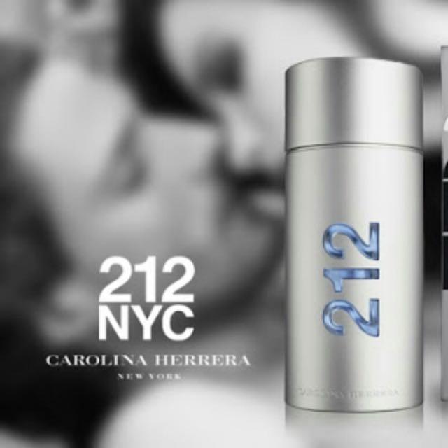 85108d61d CAROLINA HERRERA 212 NYC MEN 100ML EDT SPRAY FRAGRANCE