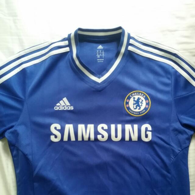 sale retailer b77ef 85962 Chelsea Authentic Jersey Blue