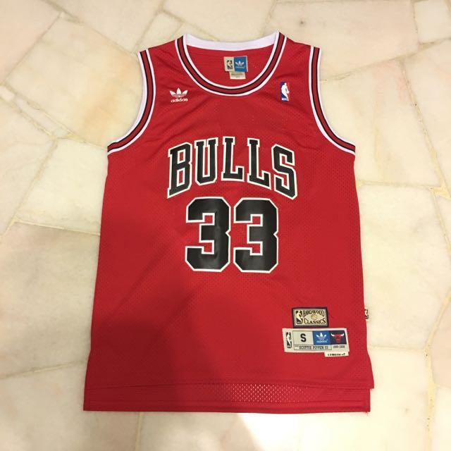 best website 6eb2c 5cf6a Chicago Bulls Scottie Pippen Jersey