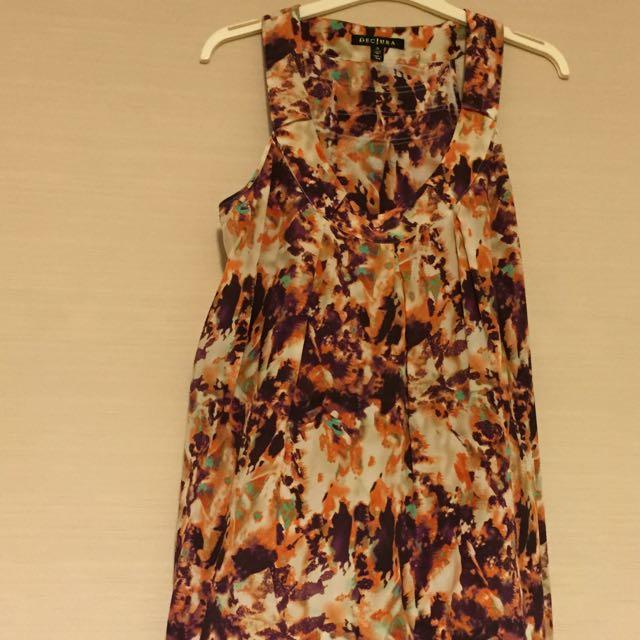 ⭐️️Decjuba Stunning Silk 100% Cami with Tiers sz 10 ⭐️