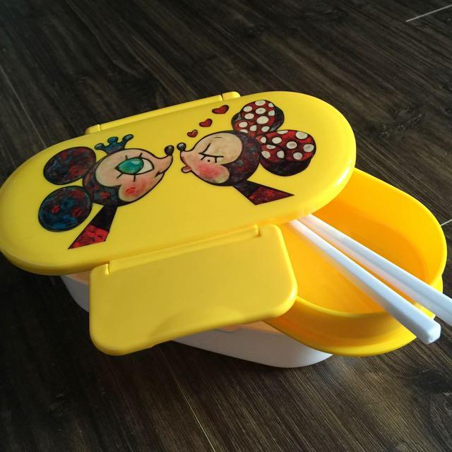 Disney歡樂時光雙層點心盒