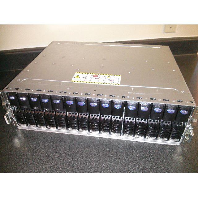 EMC KTN-STL4 FC Storge enclosure + 15 Drives, 500GB+146GB, 520B