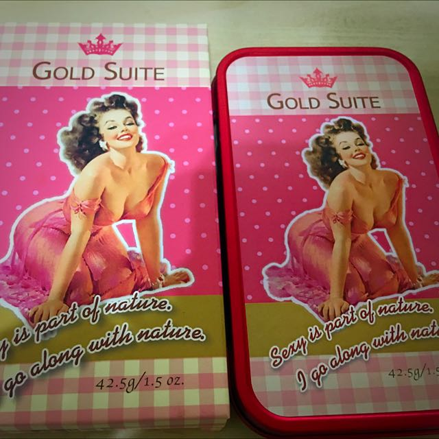 Gold Suite 3 D 傾城變身體香膏