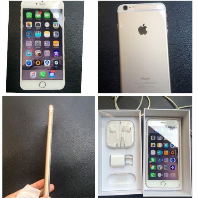 iPhone 6 Plus Gold 128GB original Apple Store NewYork
