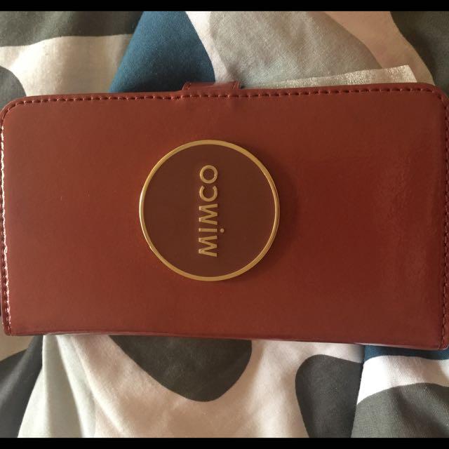 iPhone 6 Plus Mimco Wallet Case