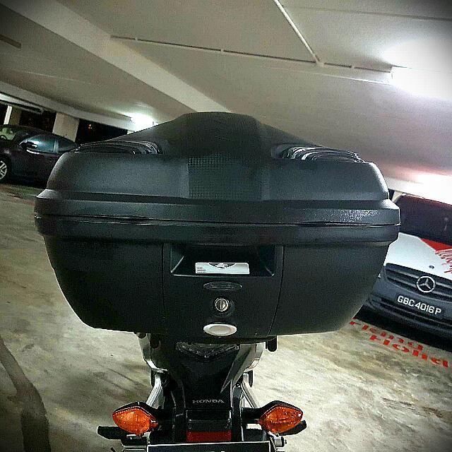 Reserved Kappa Manta Tech 47lt Black Top Box Car Accessories On
