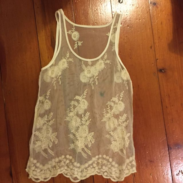 Lace Top Size Small