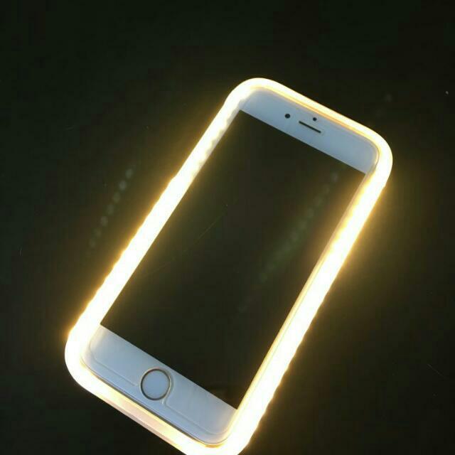 LED Light Selfie Luminous Phone case hard cover
