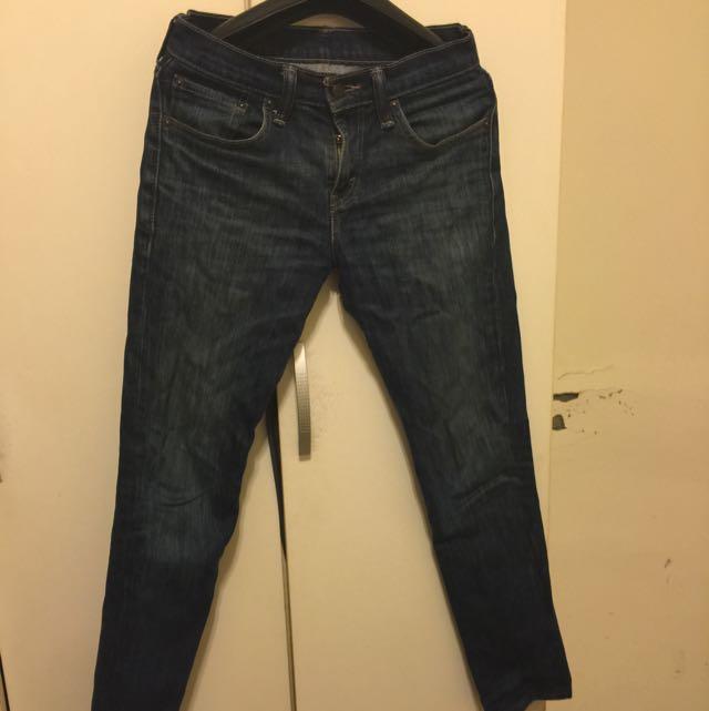 Levis511 直筒牛仔褲
