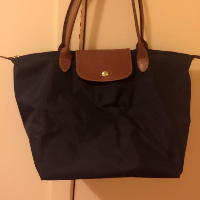 Long Champ Navy Blue Bag